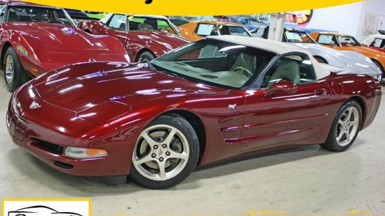 2003 Chevrolet Corvette Convertible for sale 100992213