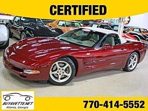2003 Chevrolet Corvette Convertible for sale 101028457