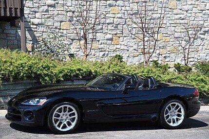 2003 Dodge Viper SRT-10 Convertible for sale 100755290