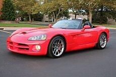 2003 Dodge Viper SRT-10 Convertible for sale 100987830