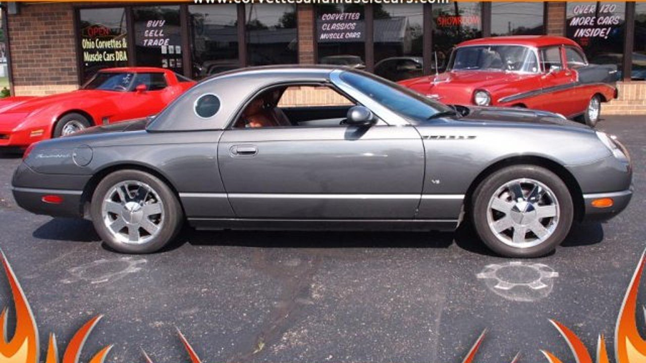 2003 Ford Thunderbird for sale 100889350