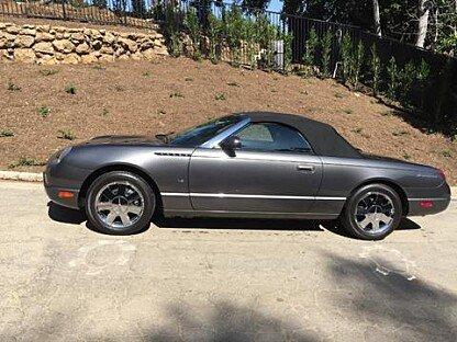 2003 Ford Thunderbird for sale 100925792
