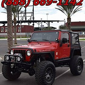 2003 Jeep Wrangler 4WD Rubicon for sale 100929790