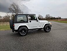2003 Jeep Wrangler 4WD X for sale 100931695