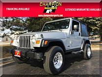 2003 Jeep Wrangler 4WD Sport for sale 100956828