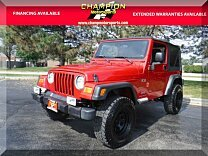 2003 Jeep Wrangler 4WD X for sale 101032241