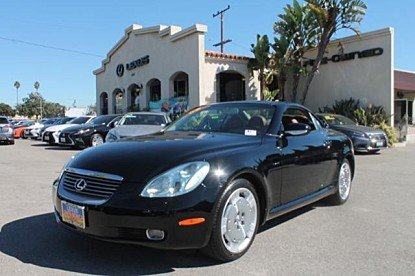 2003 Lexus SC 430 Convertible for sale 101044271