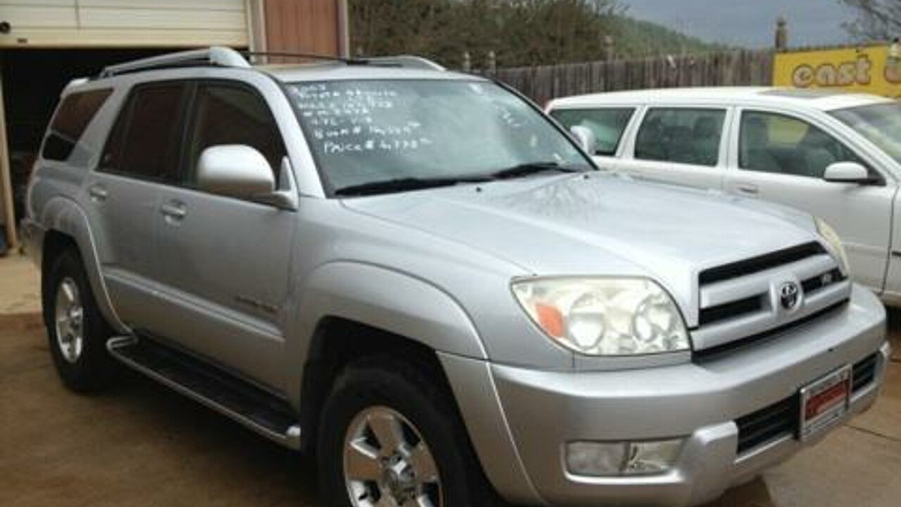2003 Toyota 4Runner 4WD Limited for sale 100293149