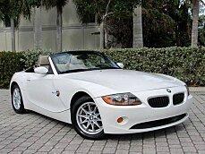 2004 BMW Z4 2.5i Roadster for sale 100940691