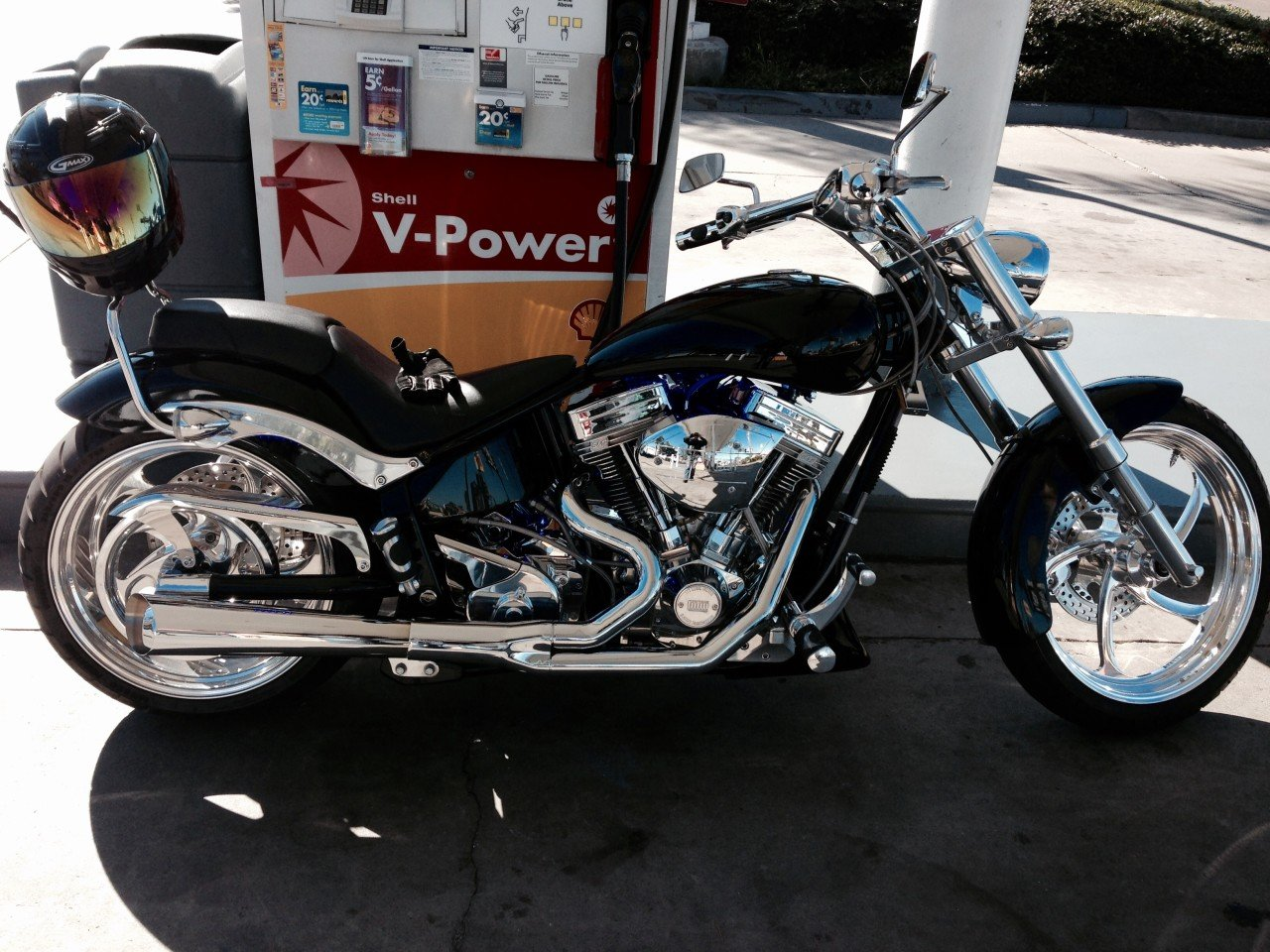 2004 Big Dog Motorcycles Pitbull For Sale Near San Diego