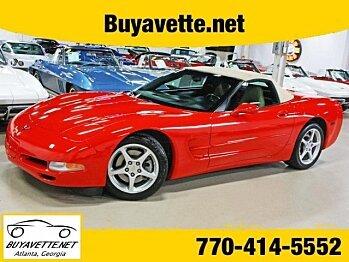 2004 Chevrolet Corvette Convertible for sale 100821595