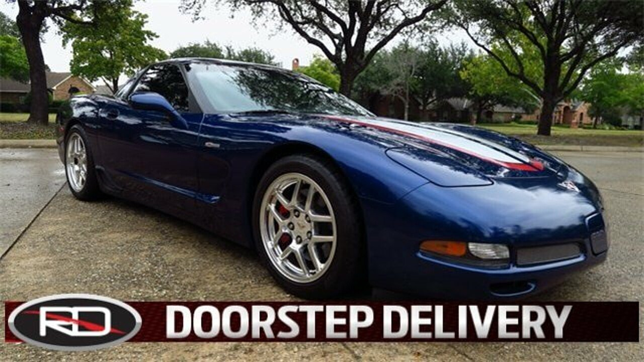 2004 Chevrolet Corvette Z06 Coupe for sale 100930230
