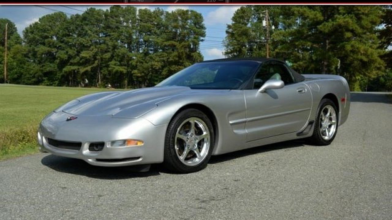2004 Chevrolet Corvette Convertible for sale 100943250