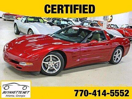 2004 Chevrolet Corvette Coupe for sale 100893737