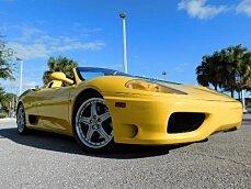 2004 Ferrari 360 Spider for sale 100812416