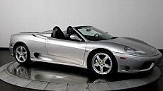 2004 Ferrari 360 Spider for sale 100849739