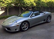 2004 Ferrari 360 Spider for sale 100861489