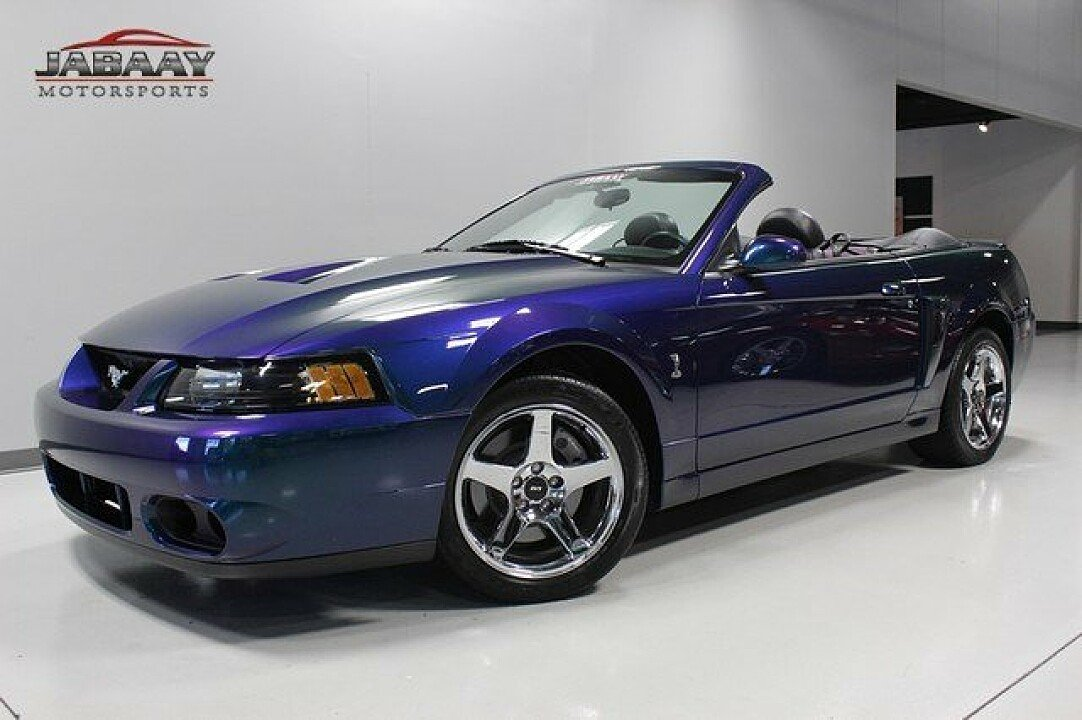 2004 ford mustang cobra convertible for sale near merrillville indiana 46410 classics on. Black Bedroom Furniture Sets. Home Design Ideas