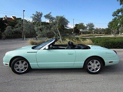 2004 Ford Thunderbird for sale 100995802