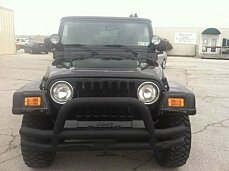 2004 Jeep Wrangler 4WD X for sale 100962585