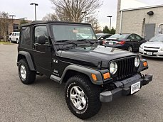 2004 Jeep Wrangler 4WD X for sale 100975947