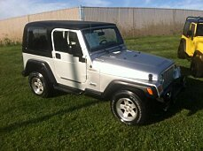 2004 Jeep Wrangler 4WD for sale 100984424