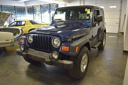 2004 Jeep Wrangler 4WD Rubicon for sale 101000688