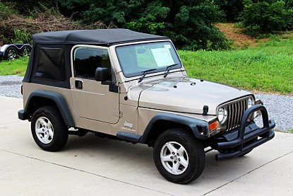 2004 Jeep Wrangler 4WD Sport for sale 101003087