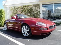 2004 Maserati Spyder for sale 100818243