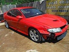 2004 Pontiac GTO for sale 100972982