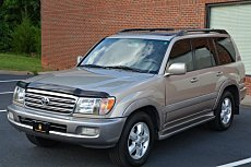 2004 Toyota Land Cruiser for sale 100884791