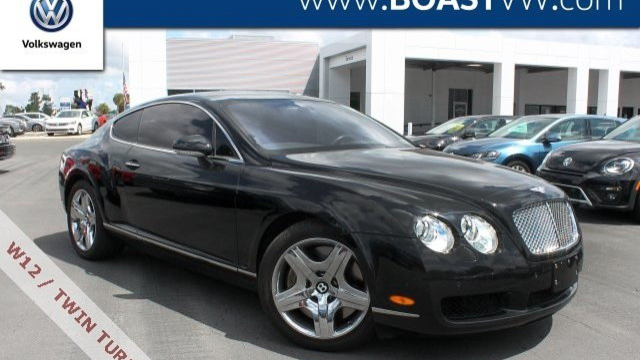 2005 Bentley Continental GT Coupe for sale 101017569