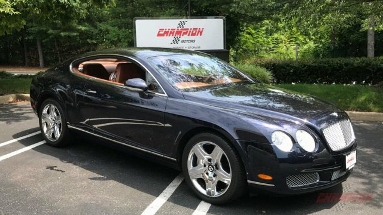 2005 Bentley Continental GT Coupe for sale 101030094