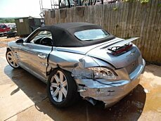2005 Chrysler Crossfire Limited Convertible for sale 100749767