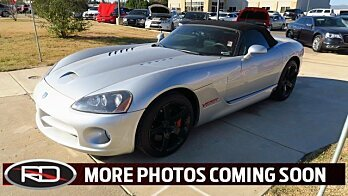 2005 Dodge Viper SRT-10 Convertible for sale 100943211