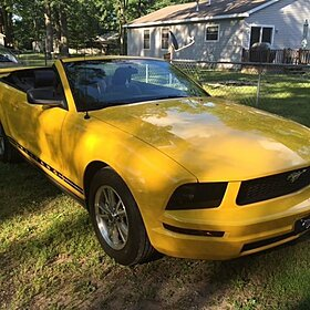 2005 Ford Mustang Convertible for sale 100786661