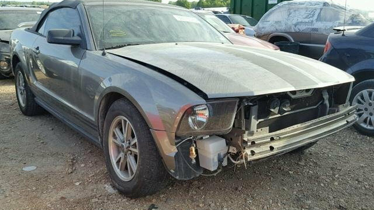 2005 ford mustang convertible for sale 101042258
