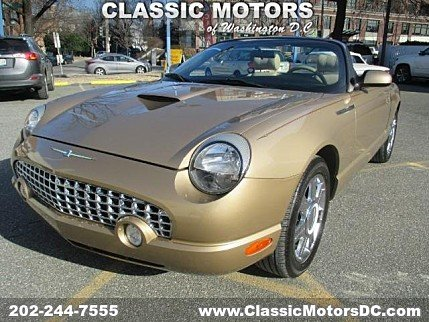 2005 Ford Thunderbird for sale 100845797