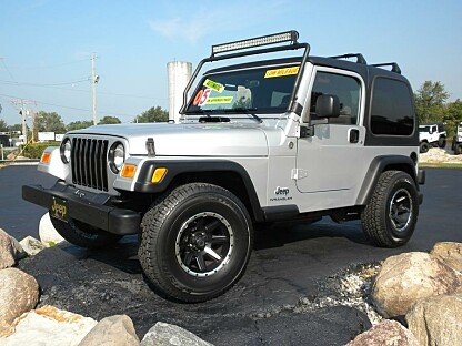 2005 Jeep Wrangler for sale 100893718
