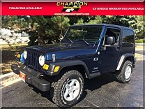 2005 Jeep Wrangler 4WD X for sale 100904029