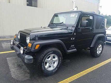 2005 Jeep Wrangler 4WD X for sale 101026111