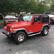 2005 Jeep Wrangler 4WD SE for sale 101043281