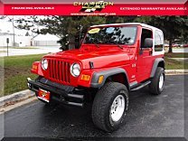 2005 Jeep Wrangler 4WD X for sale 101054676