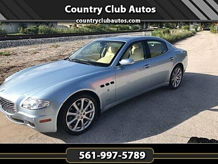 2005 Maserati Quattroporte for sale 100925159