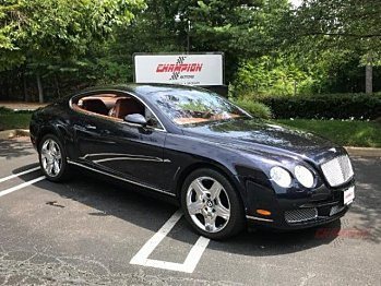 2005 bentley Continental GT Coupe for sale 101029599