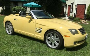 2005 chrysler Crossfire Limited Convertible for sale 101018375