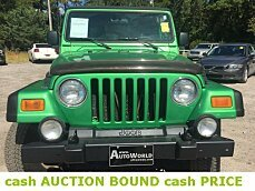 2005 jeep Wrangler 4WD Sport for sale 101022952