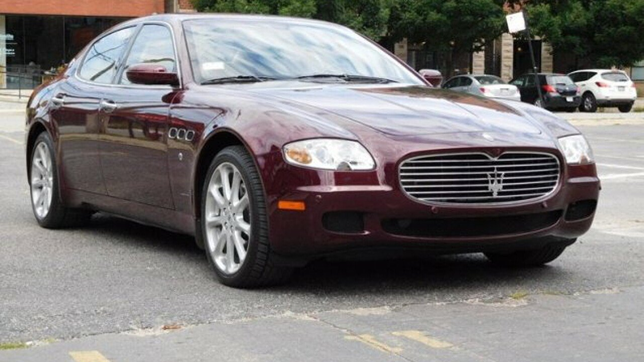 2005 maserati Quattroporte for sale 100956404