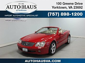 2005 mercedes-benz SL500 for sale 100989968