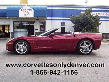 2006 Chevrolet Corvette Convertible for sale 100754970
